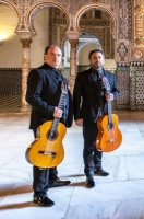 "ANTONIO ANDRADE DUO - FlamencoGitarren-Duo, feat. MIGUEL SOTELO CD-Präsentation ""Requerdos del Alcázar"""